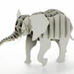 3Dペーパーパズルシリーズ アフリカゾウ