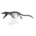 3Dペーパーパズル モササウルス(ブラック)