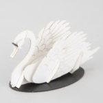 3Dペーパーパズル 白鳥