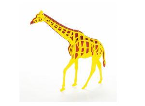 3Dペーパーパズル キリン