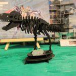 3Dペーパーパズル ティラノサウルス (大) (ブラック)