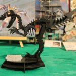 3Dペーパーパズル ヴェロキラプトル (大) (ブラック)