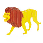 3Dペーパーパズル ライオン