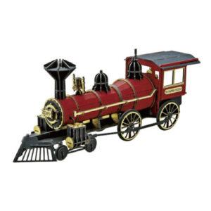3Dペーパーパズル 蒸気機関車<レッド>