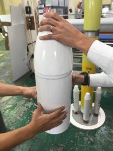 リボード H3ロケット 制作模型