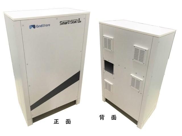 ダンボール リボード モックアップ 蓄電池 smartstarL